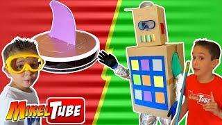 Robot de Carton de Leo Vs Robot aspirador iLife thumbnail