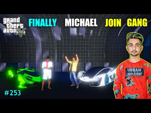 BALLAS GANG ATTACK ON MICHAEL | MICHAEL JOIN ANNA GANG | GTA V GAMEPLAY #253