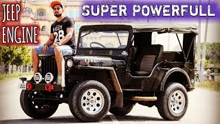 MODIFIED JEEP WITH BEST IN JEEP SEGMANT ENGINE | 3000 CC | WILLYS