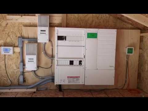 6kw pv system using schneider conext 6848 inverter youtube 6kw pv system using schneider conext 6848 inverter swarovskicordoba Gallery