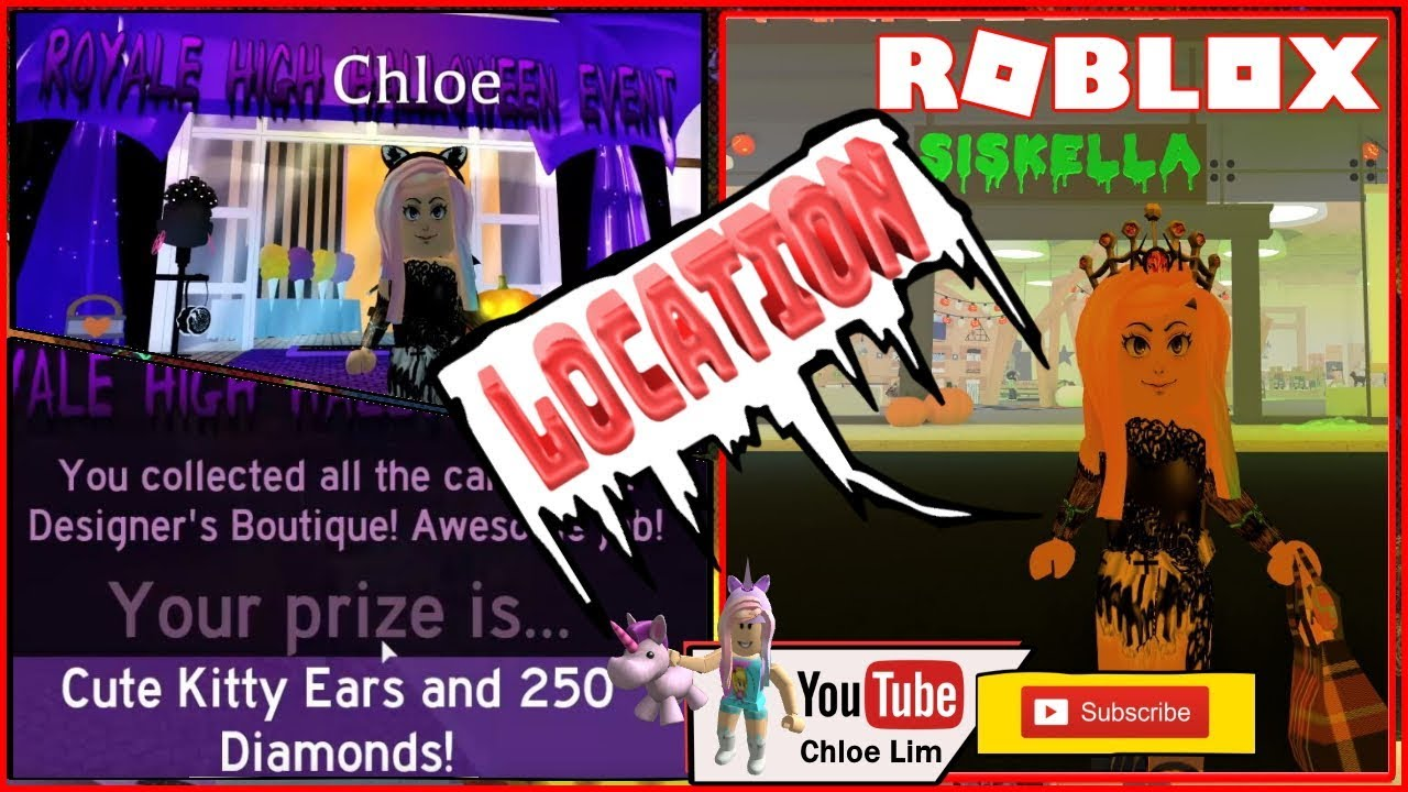Roblox Royale High Halloween Event Gamelog October 04 2019