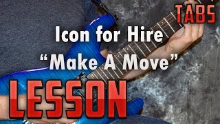 Icon for Hire-Make A Move-Guitar Lesson-Tutorial-How to Play-Tabs