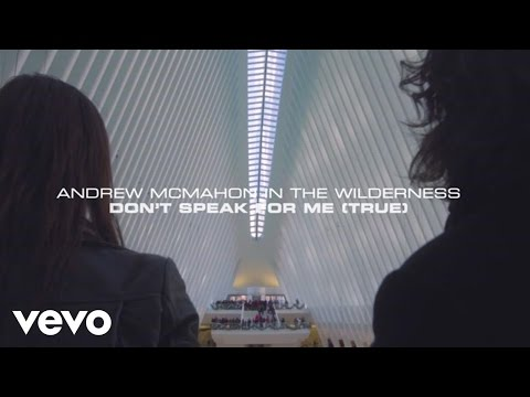 Andrew McMahon in the Wilderness - Don't Speak For Me (True) (Lyric Video)