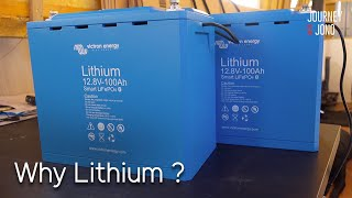 37. I'm changing to Lithium Batteries, what type & why