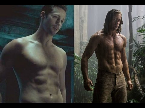 The Legend of Tarzan - Workout & Diet REVEALED (Alexander Skarsgård Muscle & Abs Transformation)