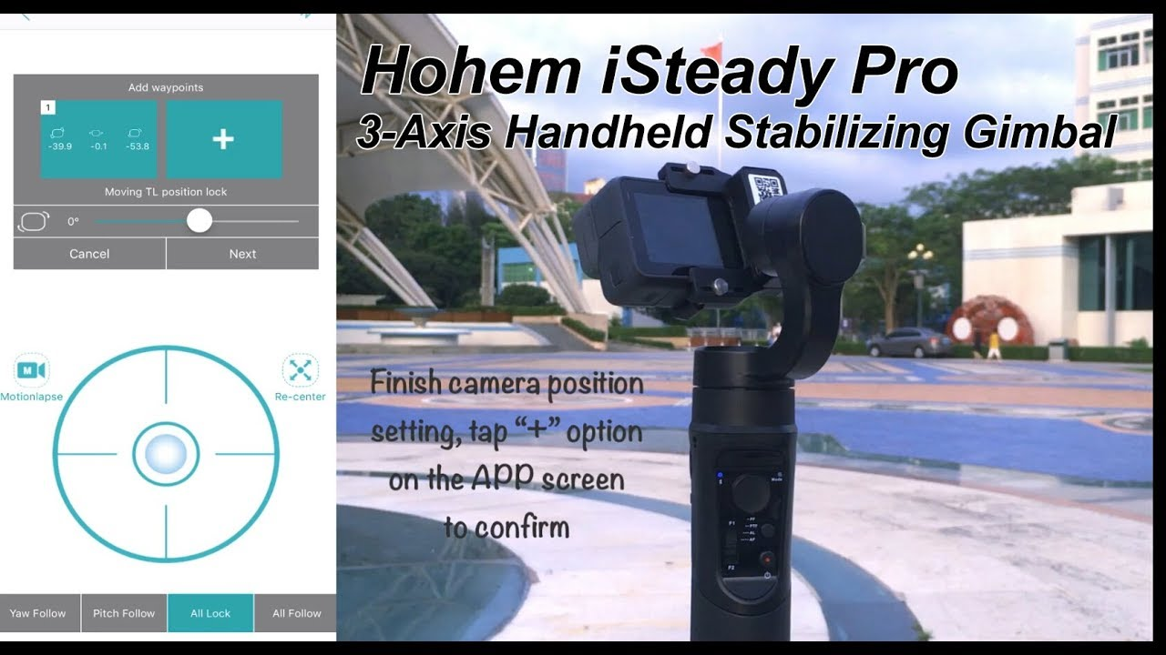 Hohem Isteady Pro 3 Axis Handheld Stabilizing Gimbal Youtube Feiyu Spg Steady For Smartphones Extra Battrey