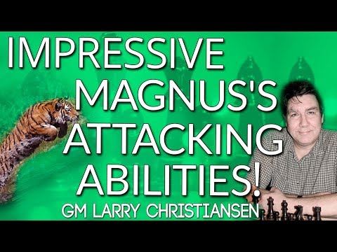 Magnus Carlsen's Insane Attacks 😜 by GM Larry Christiansen