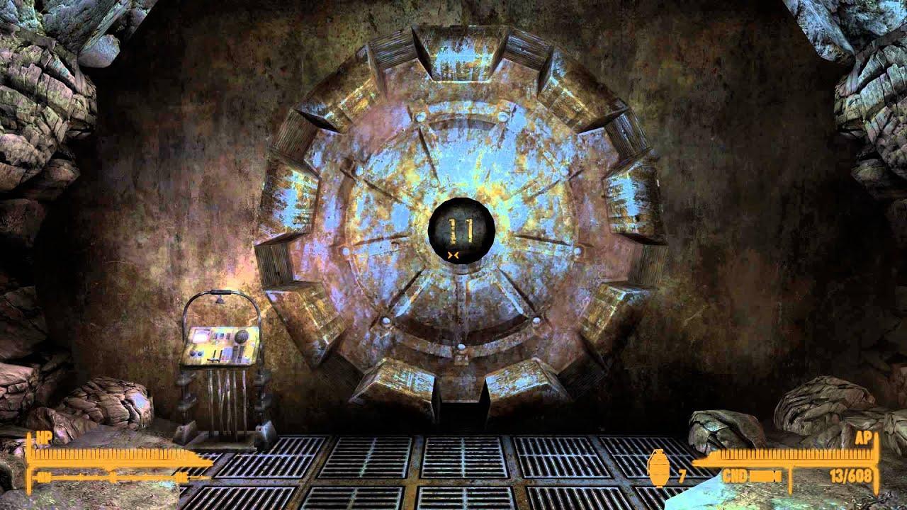 Fallout Vault Door fallout new vegas vault door closing - youtube