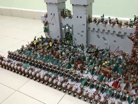 Castle Siege Moc Youtube