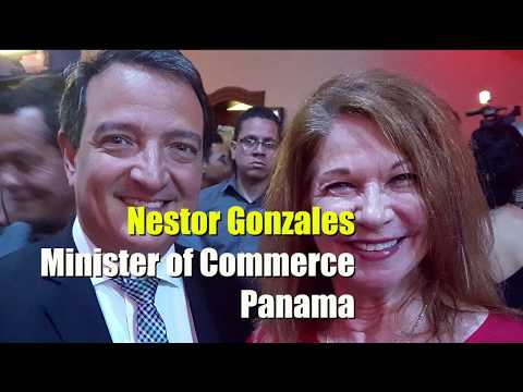 Nestor Gonzales Panama Minister Of Commerce Talks Movie Business In Panama