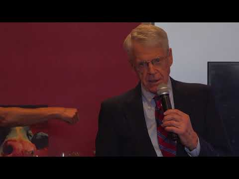 Dr. Caldwell Esselstyn at GreenFare Organic Café