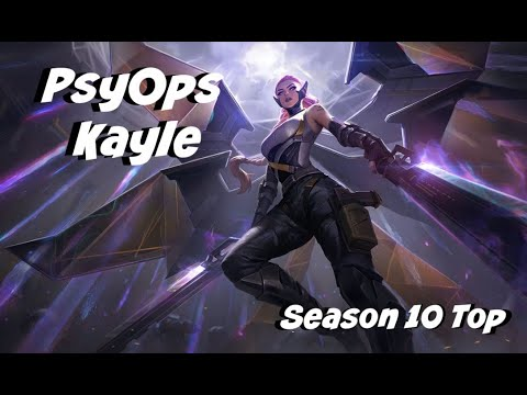League of Legends: PsyOps Kayle Top Gameplay
