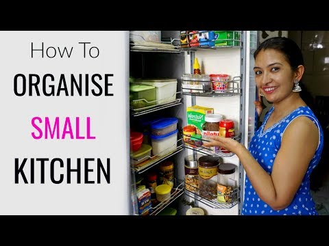 How To Organise Small Indian Kitchen