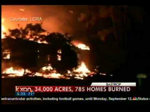 Bastrop Fire Burns 785 Homes