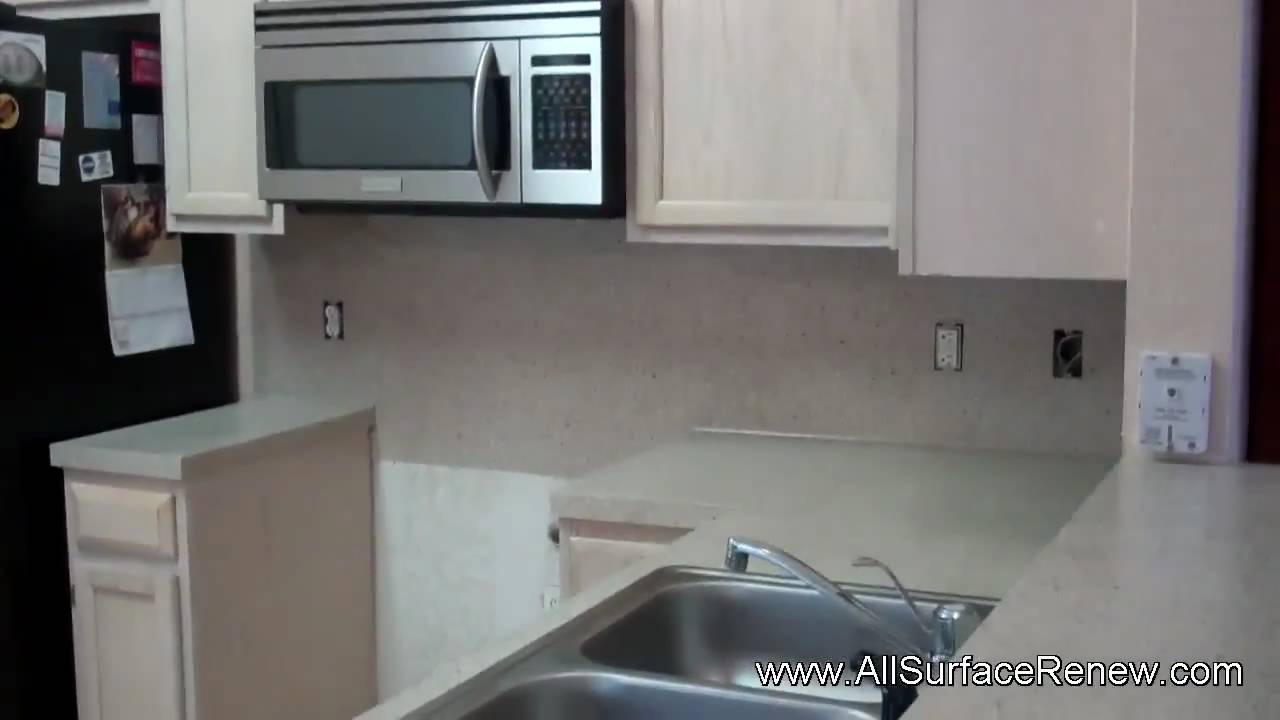 Changing The Color Of Blue Laminate Countertops