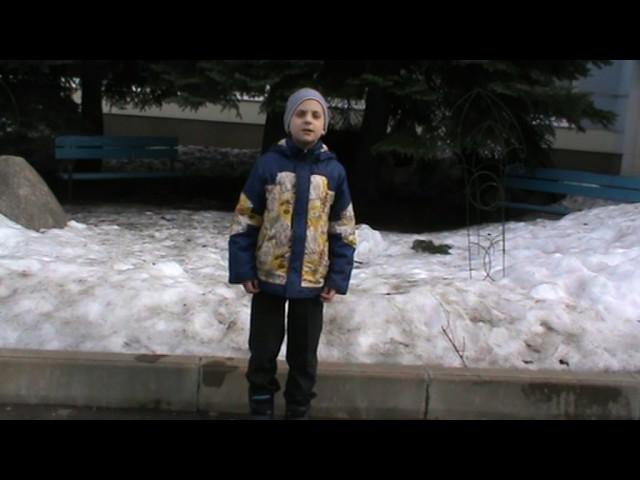 Изображение предпросмотра прочтения – ИльяБалашов читает произведение «Весенние воды (Еще вполях белеет снег…)» Ф.И.Тютчева