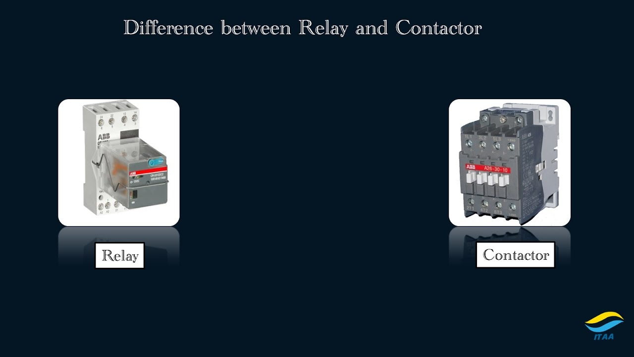 Difference Between Contactor And Relay In Urdu