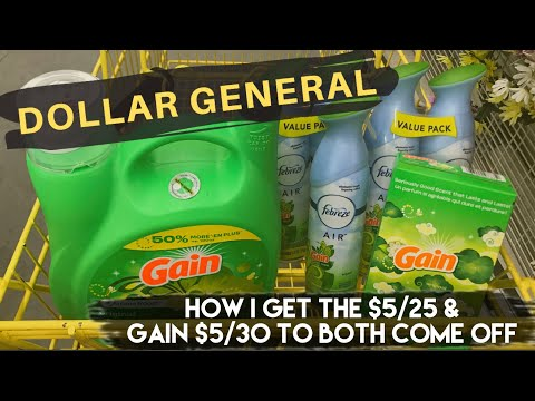 Dollar General! How I Get The $5/25 & Gain $5/30 To Both Come Off