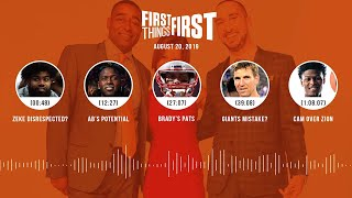 First Things First Audio Podcast(8.20.19) Cris Carter, Nick Wright, Jenna Wolfe | FIRST THINGS FIRST