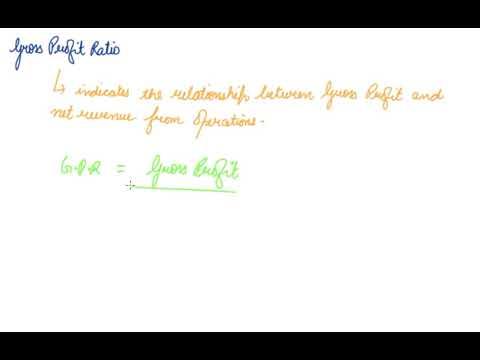 Profitability Ratios and Gross Profit Ratio | Class 12 Accountancy Accounting Ratio