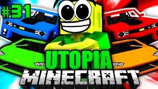 Die ULTIMATIVEN HYPERAUTOS?! - Minecraft Utopia #031 [Deutsch/HD]