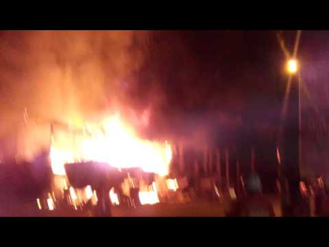 Tanah merah kelantan Malaysia # clothes shops burning