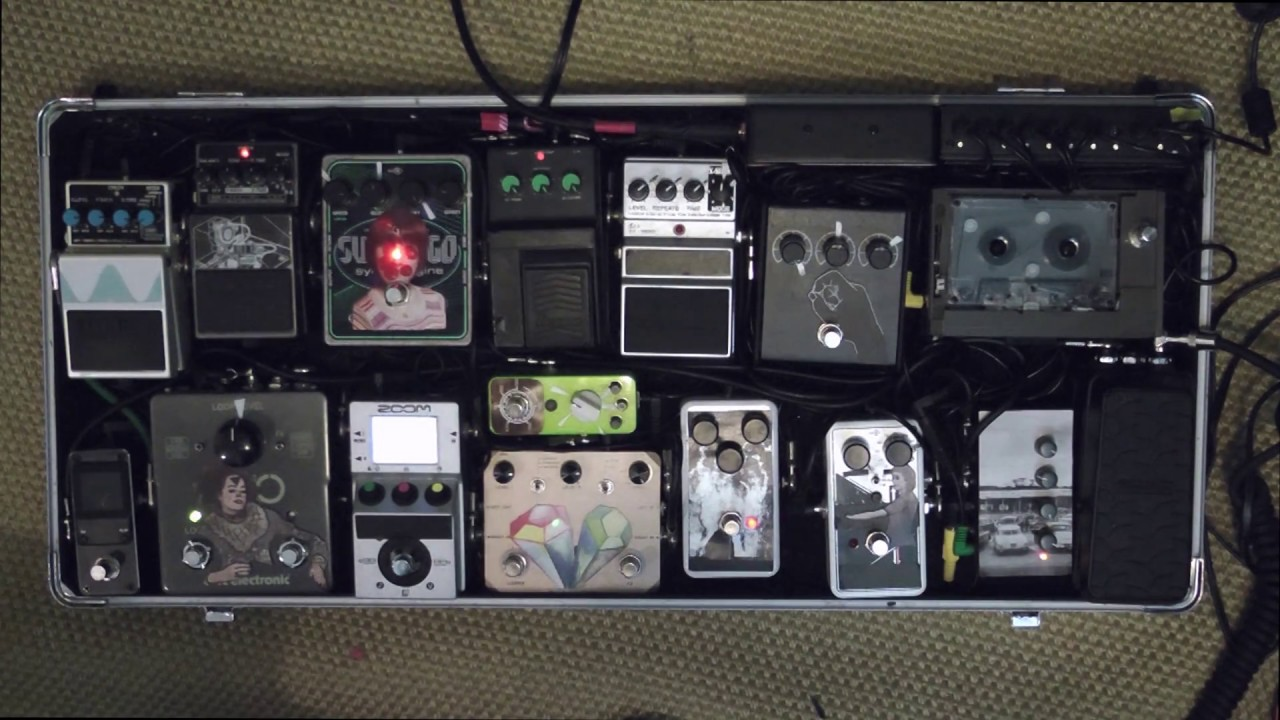 cassette tape loop pedal improvised ambient guitar looping youtube. Black Bedroom Furniture Sets. Home Design Ideas