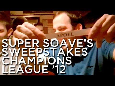 2012-01-18 'Super Soave's Sweepstakes: Champions League 2012'