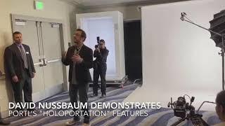 Hologram TECH 4 REAL PORTL's HoloPortation Technology