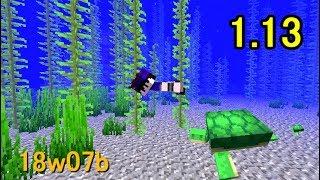 【Minecraft】バージョン1.13 紹介  ゆっくり実況 18w07b