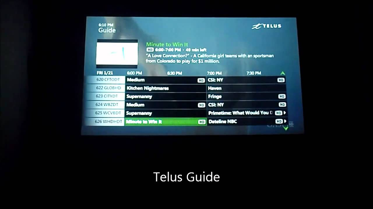 Shaw TV VS Telus Optik TV