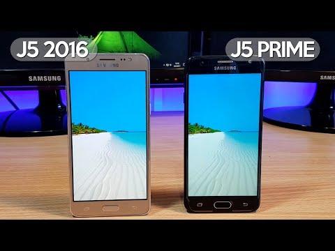 Galaxy J5 2016 vs Galaxy J5 Prime - Comparativa