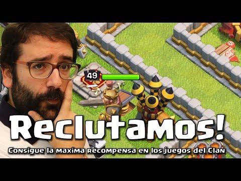 CONSIGUE LA MAXIMA RECOMPENSA EN LOS JUEGOS DEL CLAN! USAMOS LATIGOS NUEVOS! | Clash of Clans
