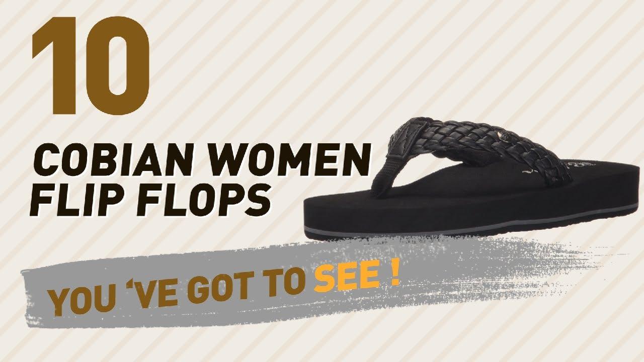 b08ecf2a1 Cobian Women Flip Flops    New   Popular 2017 - YouTube