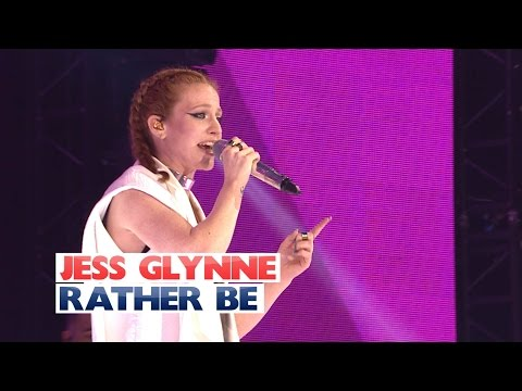 Jess Glynne - 'Rather Be' (Live At The...