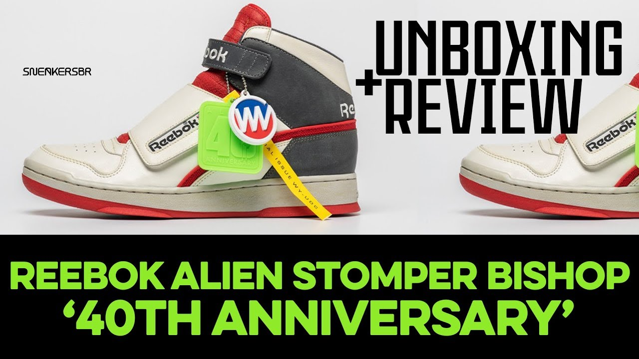 1d522bf5b7c UNBOXING+REVIEW - Reebok Alien Stomper Bishop '40th Anniversary'