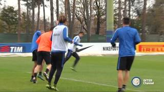 ALLENAMENTO INTER REAL AUDIO 19 11 2015