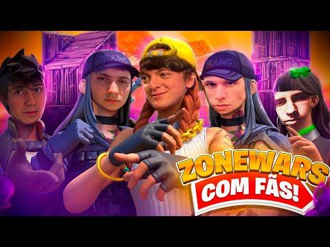 PRO PLAYERS VS FÃS (Zonewars) | Fourteen eSports