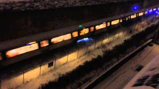 Slo-Mo of DC Metro Rail - Arcing Current Under Train thumbnail
