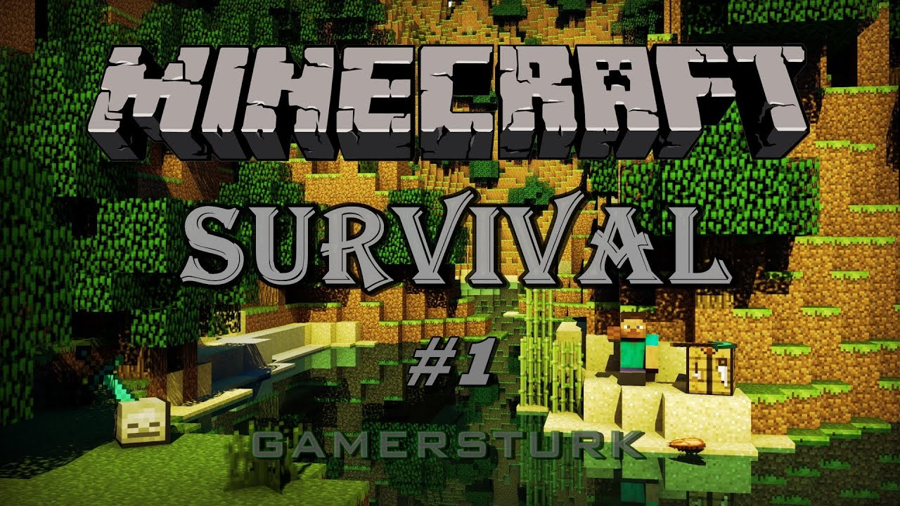 Minecraft Survival - Türkçe [Part 1] Ev yapımı