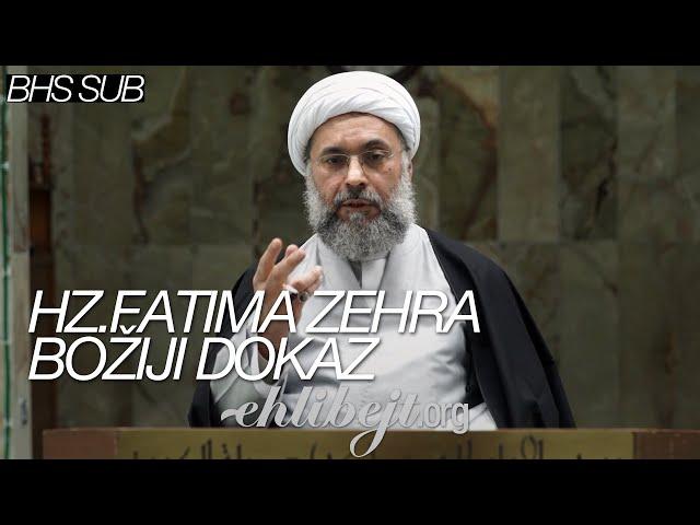 Hazreti Fatima Zehra, s a , Božiji dokaz - šejh Abdullah Dešti