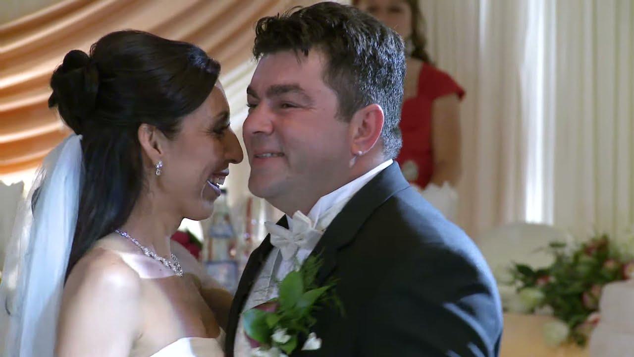 Elegant Brides First Dance Wedding Reception Fontana