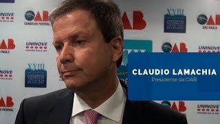 Claudio Lamachia | Fortalecimento da democracia
