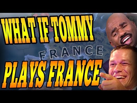 WHAT HAPPENS WHEN TOMMY JOINS A NOOB GAME AS FRANCE? - HOI4 Multiplayer
