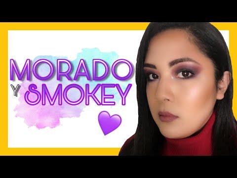 SMOKEY EYE MORADO 💜🎉: Alístate para la disco! 🔥 thumbnail