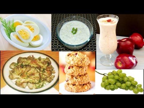 Comidas de bajas calorias