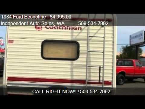 1984 Ford Econoline COACHMAN CLASS C - for sale in Spokane V