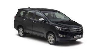 2018 Toyota Innova Crysta car interior and exterior group