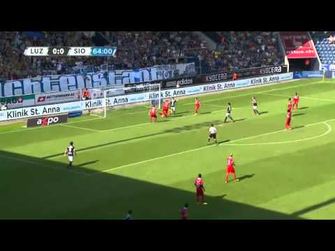 Fc Luzern Vs Fc Sion 1 0 Raiffeisen Super League 04 08