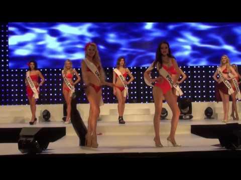 Bikini Swimsuit Round Europe - Miss Intercontinental 2015